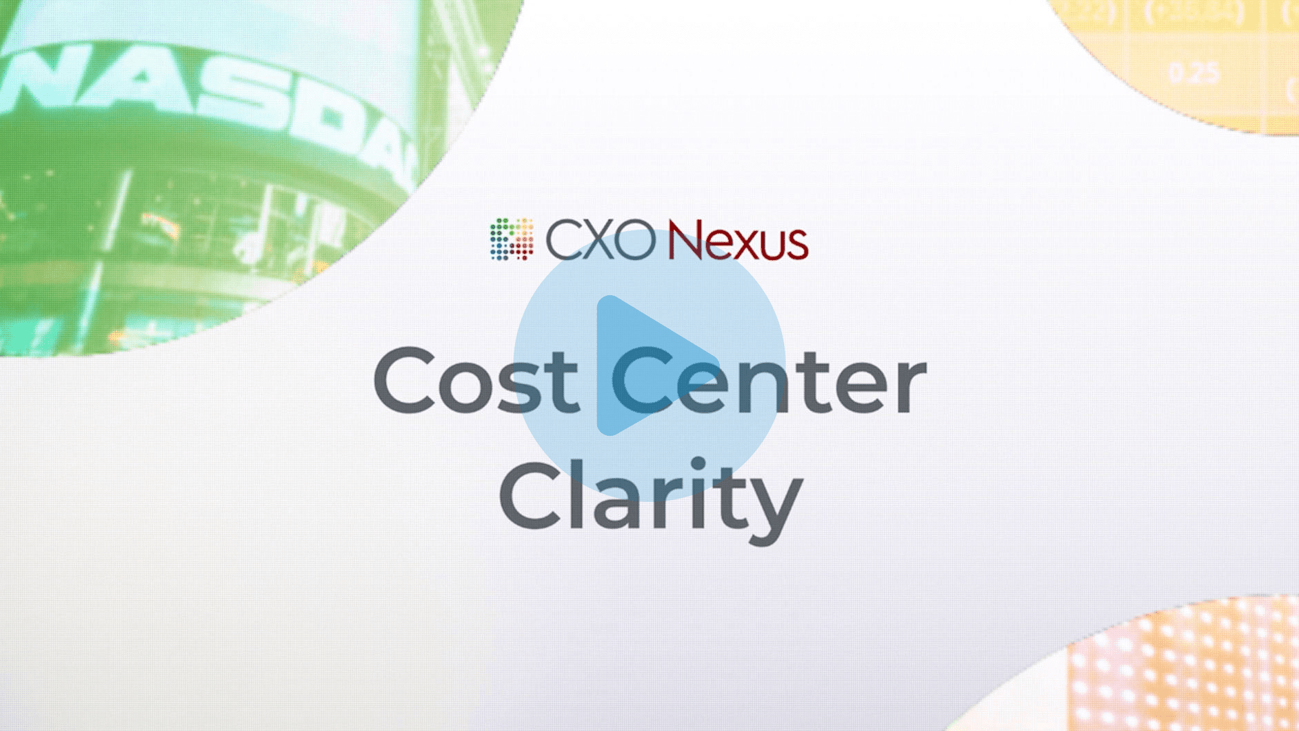 cost center clarity Use case video