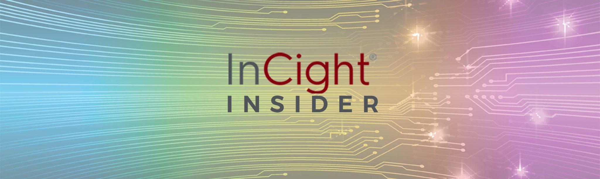 InCight Insider Banner